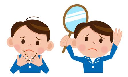 子供の脱毛症